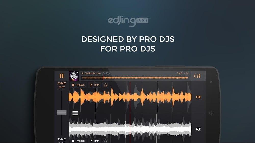 Edjing PRO - Máy trộn DJ (Đầy đủ / Trả phí) ***