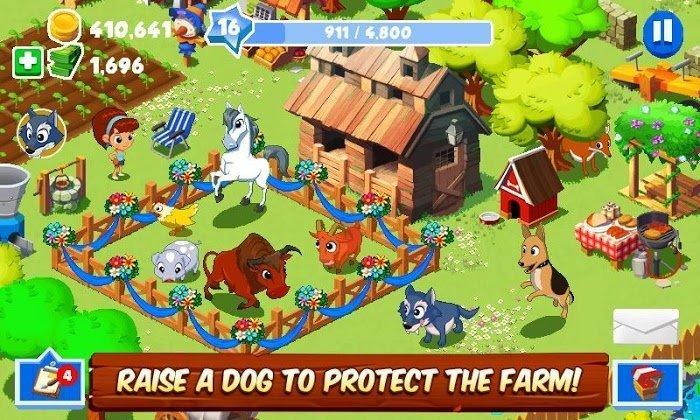 Green Farm 3 MOD Vo han TienSeeds