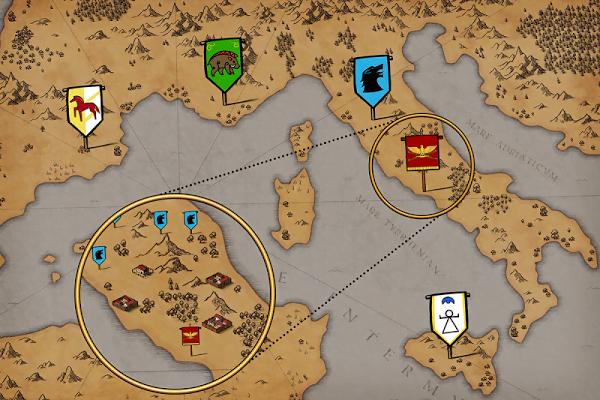 Grow Empire: Rome (MOD, Tiền / Đá quý không giới hạn)