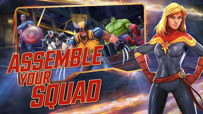 Marvel Strike Force MOD TeamAR Gift