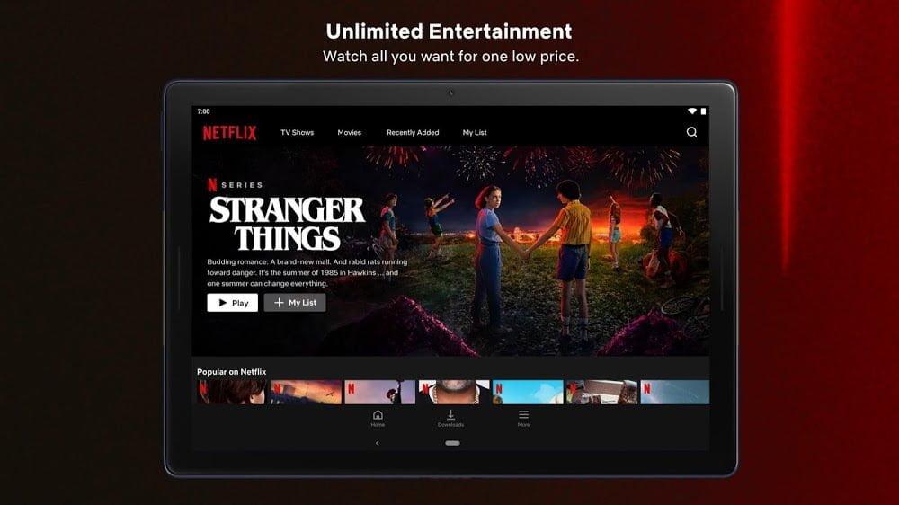 Netflix (MOD, Premium / 4K / Tất cả các khu vực)