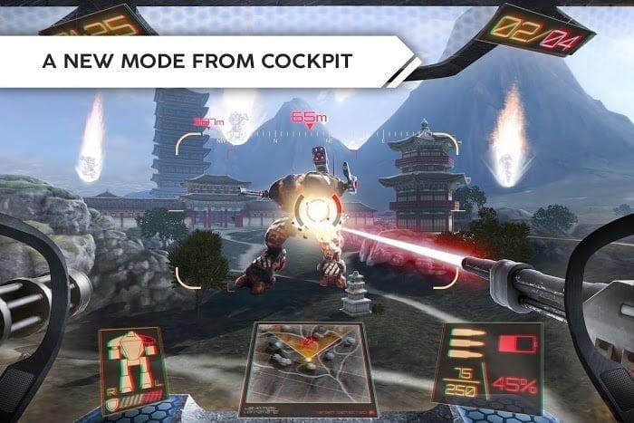 Robot Warfare: Mech Battle (MOD, Đạn không giới hạn)