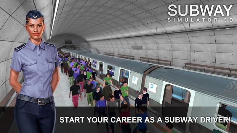 Subway Simulator 3D MOD Vo han Tien