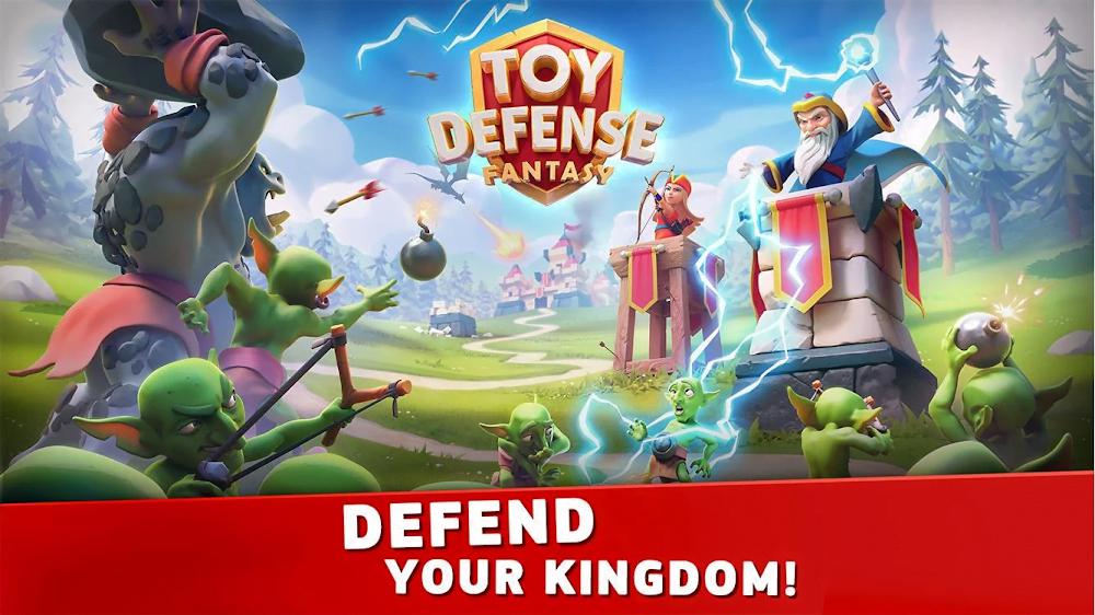 Toy Defense Fantasy (MOD, Tiền / Kim cương)