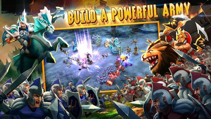Wartide Heroes of Atlantis MOD ManaDamage