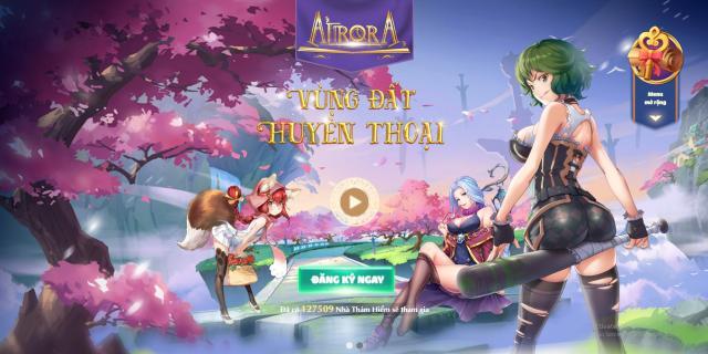 giftcode Aurora Vùng Đất Huyền Thoại