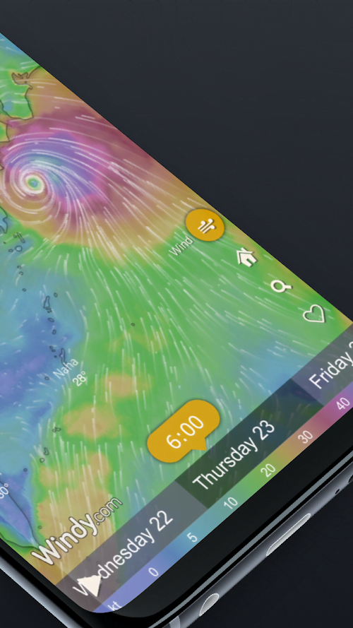 Windy.com - Radar, vệ tinh và dự báo thời tiết