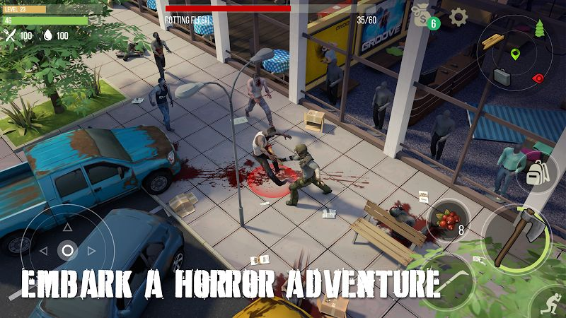 Prey Day: Survival - Craft & Zombie (MOD, Immortality / Freezing Bots)
