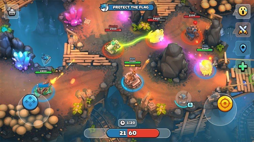 Xe tăng Pico: Nhiều người chơi Mayhem