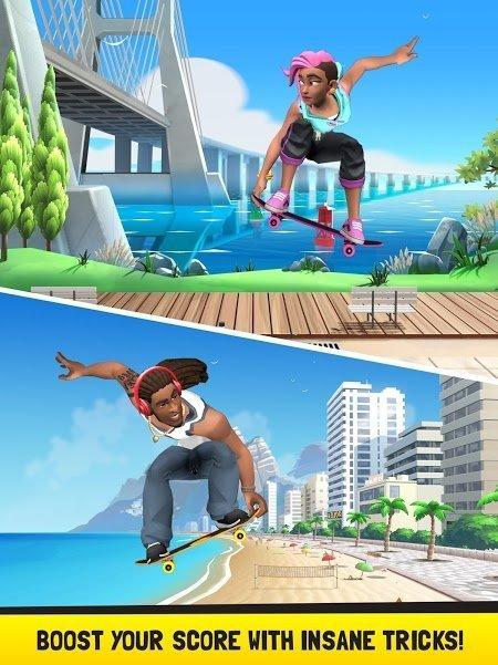 Flip Skater (MOD, Tiền / Mở khóa tất cả)