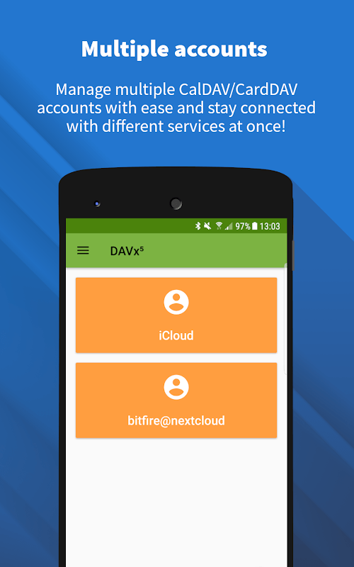DAVx⁵ - Ứng dụng khách CalDAV / CardDAV (MOD, Đầy đủ / Trả phí) ***