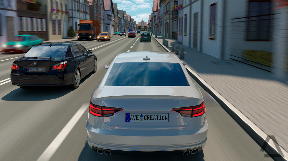Vùng lái xe: Đức