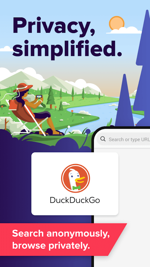 DuckDuckGo Privacy Brower (MOD,) ***
