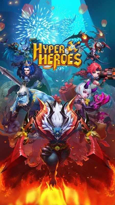 Hyper Heroes Marble Like RPG MOD God Mode