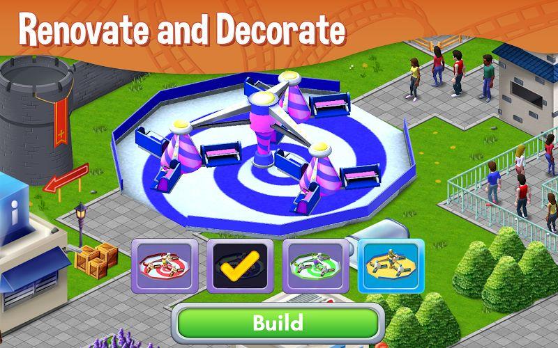 RollerCoaster Tycoon Story MOD Vo han Tien xu