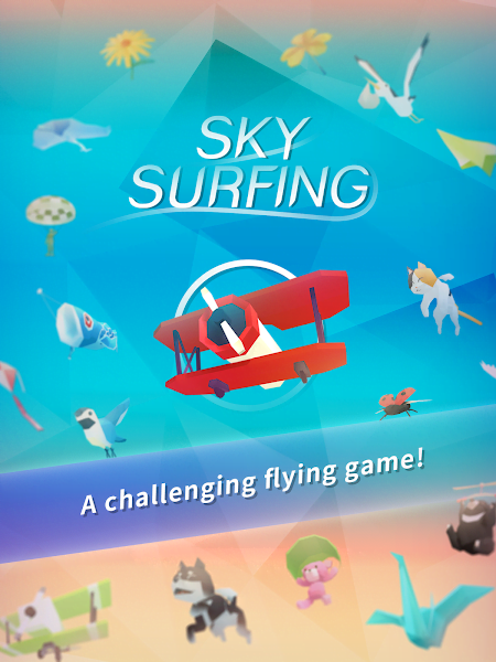 Sky Surfing MOD unlocked