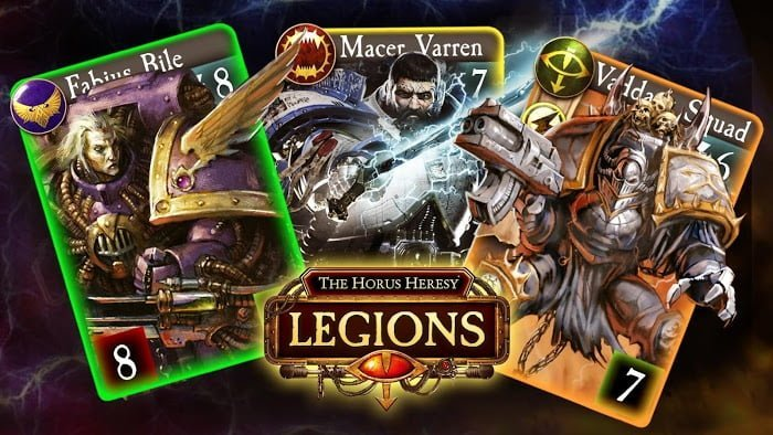 The Horus Heresy Legions MOD coins