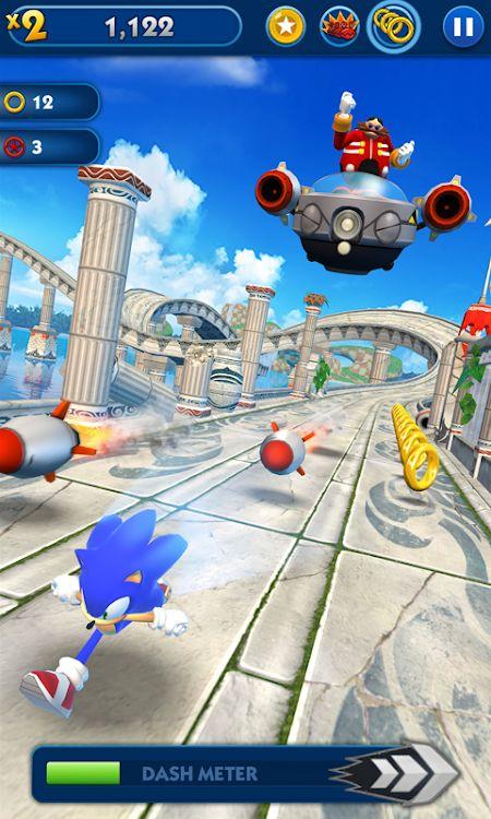Sonic Dash (MOD, Tiền tệ / Tất cả các ký tự)