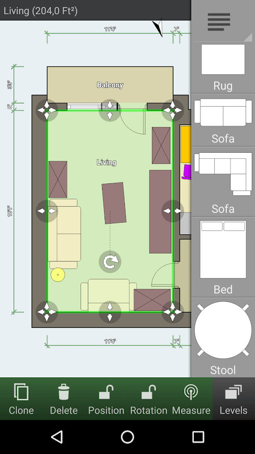 Trình tạo sơ đồ tầng (MOD, Đã mở khóa) ***