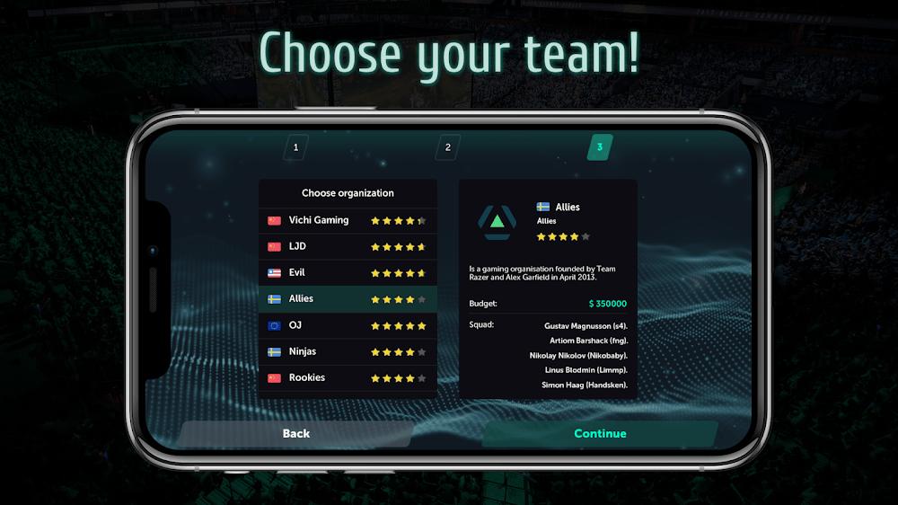 Esports Manager MOBA (MOD, Đầy đủ / Trả phí) ***