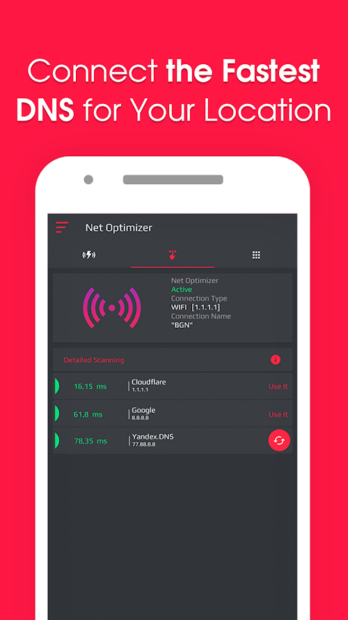 Net Optimizer | Tối ưu hóa tốc độ Internet của bạn (Đã mở khóa MOD, PRO) ***