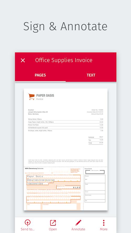 SwiftScan - Máy quét tài liệu PDF (Đã mở khóa MOD, PRO) ***