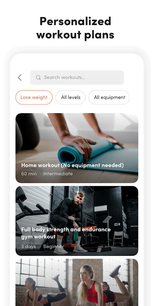 Virtuagym Fitness Tracker (Đã mở khóa MOD, PRO) ***