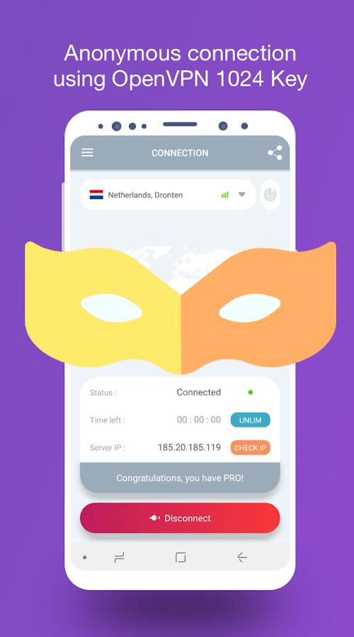 VPN Tap2free - dịch vụ VPN miễn phí (MOD, Mở khóa cao cấp) ***