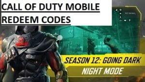 Call of Duty Mobile đổi mã