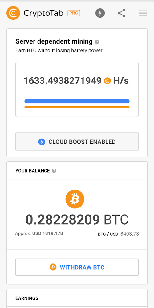 CryptoTab Browser Pro (MOD, Đầy đủ / Bản vá) ***