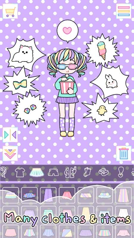 Pastel Girl (MOD, Mua sắm miễn phí)
