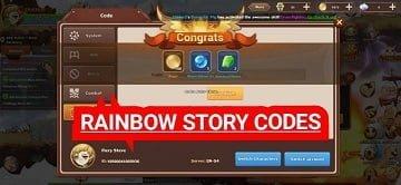Rainbow Story Codes
