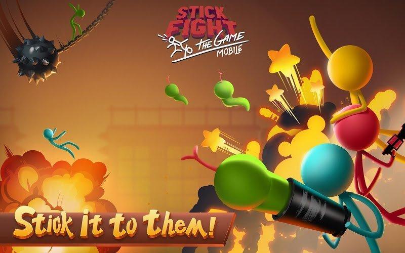 Stick Fight (MOD, God Mode)