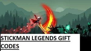 Mã quà tặng Stickman Legends
