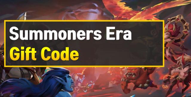Nhận 4492 Gift Code Summoners Era toàn tướng Khủng nhất