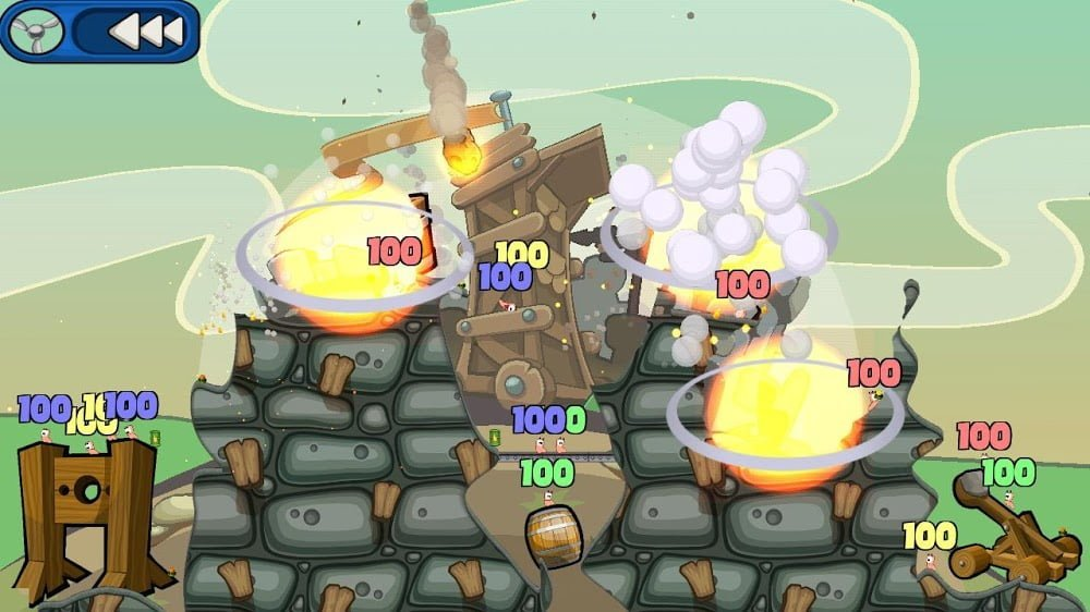 Worms 2: Armageddon (MOD, Tiền không giới hạn) ***