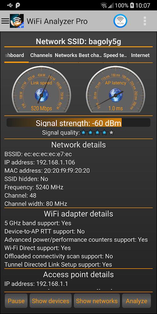 WiFi Analyzer Pro (MOD, Đầy đủ / Trả phí) ***