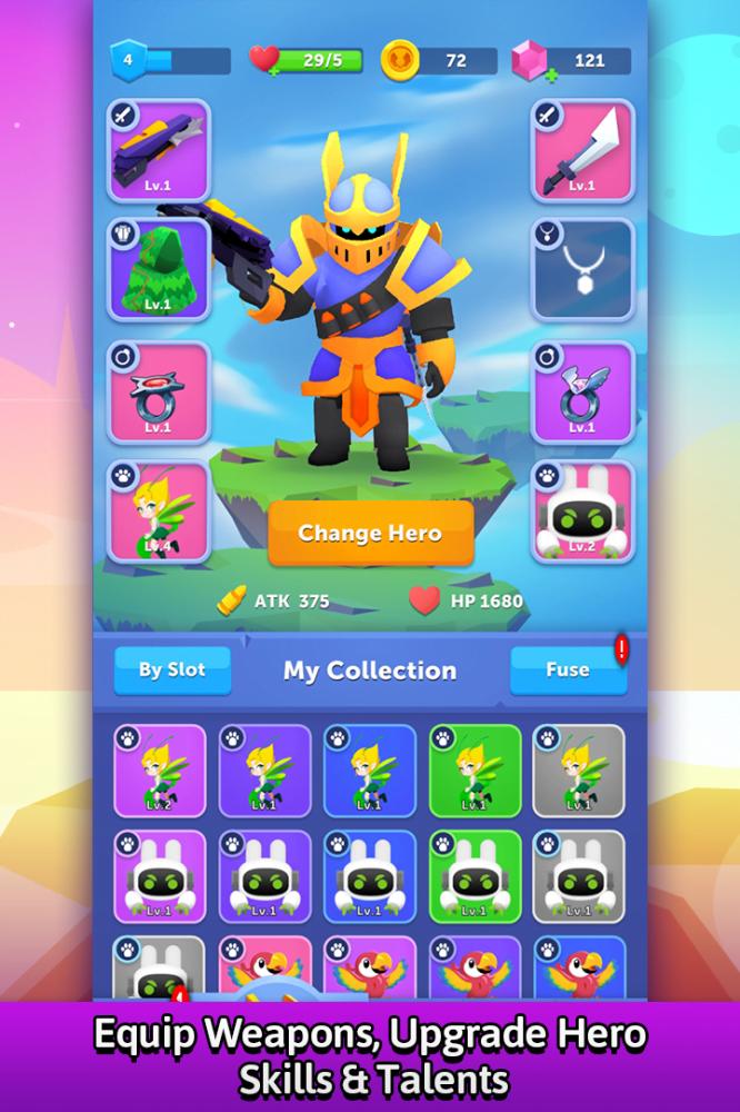 Bullet Knight (MOD, Kim cương không giới hạn) ***