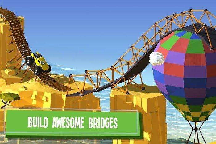 Xây dựng một cây cầu! (MOD, Xu / Gợi ý / Tất cả đã được mở khóa)