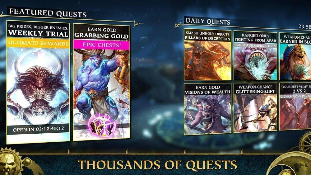 Warhammer Quest: Silver Tower (MOD, Tiền không giới hạn)