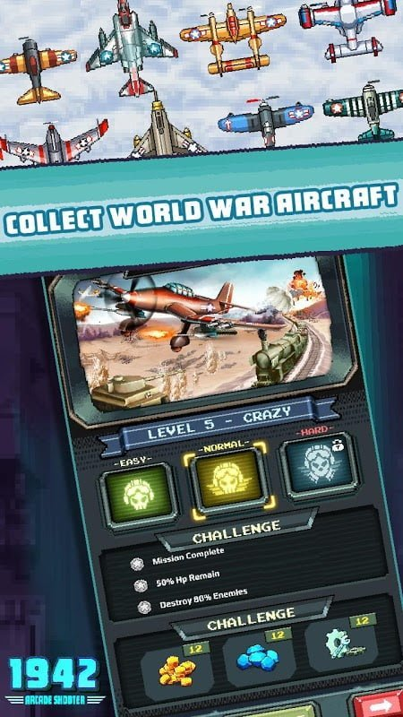 1610917507 900 1942 Arcade Shooter MOD Ultimited Tien