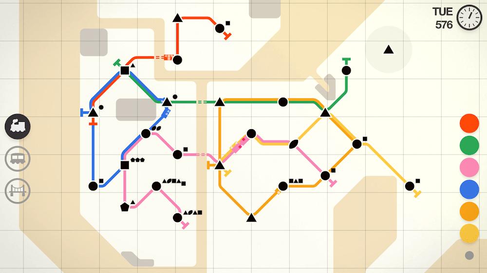 Tàu điện ngầm mini (MOD, Mở khóa tất cả các thẻ) ***