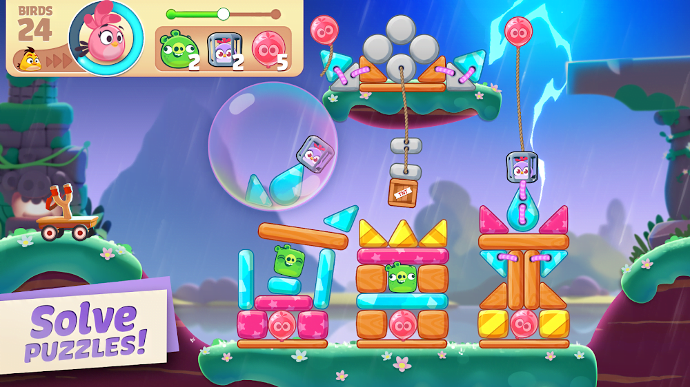 Angry Birds Journey (MOD, Unlimited Heart) ***