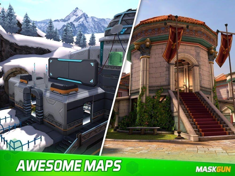 MaskGun Multiplayer FPS - Trò chơi Bắn súng Miễn phí ***