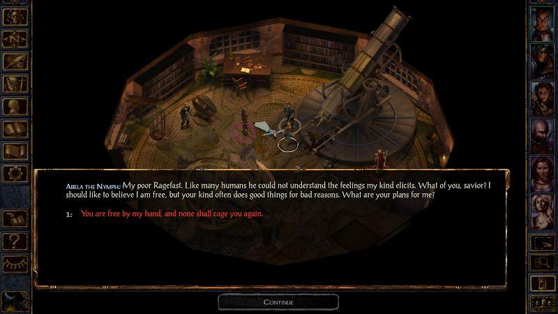 Baldurs Gate Enhanced Edition MOD Mo khoa