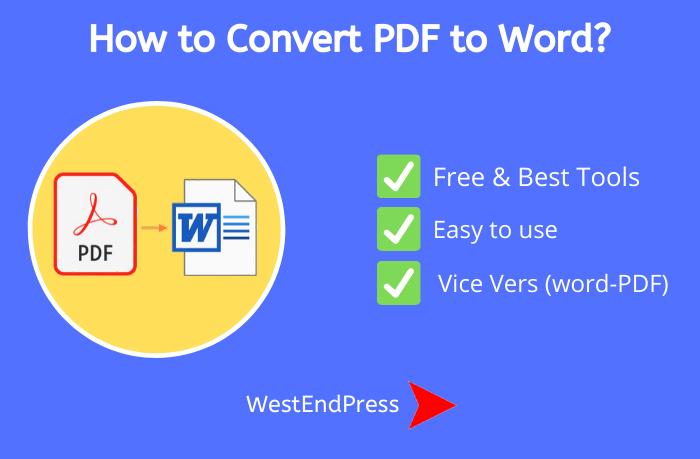 Trình chuyển đổi PDF sang Word tốt nhất