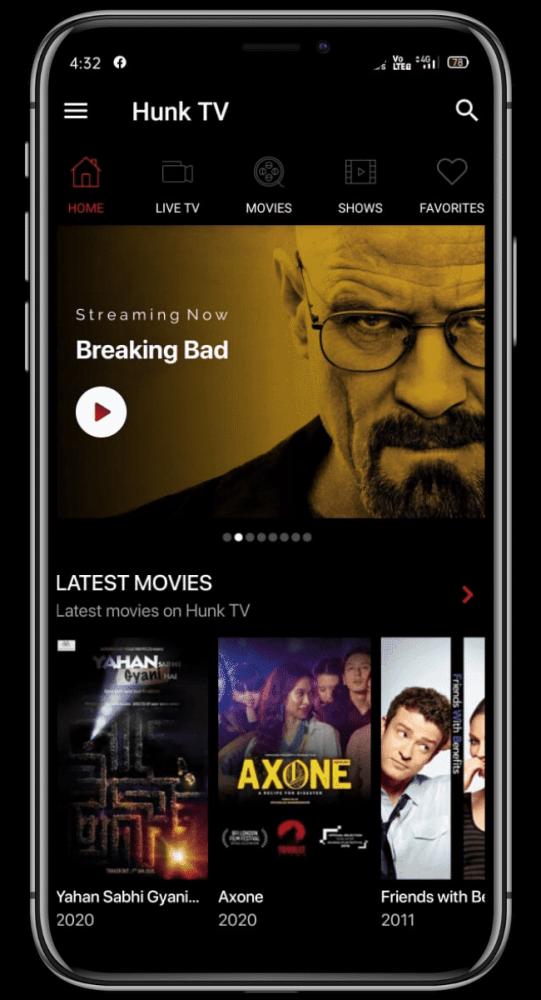 Hunk TV Android (MOD, AdFree) ***