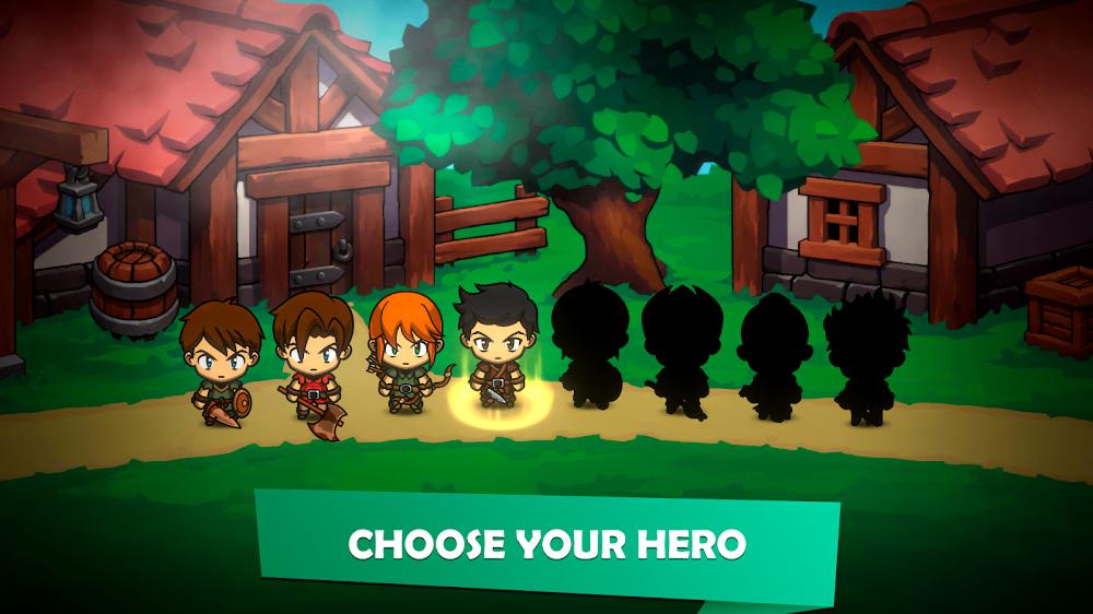 Kinda Heroes (MOD, Mua sắm miễn phí / Đã mở khóa) ***