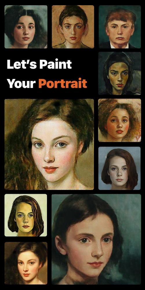 PortraitAI - Chân dung & hình đại diện cổ điển (MOD, Pro đã được mở khóa)