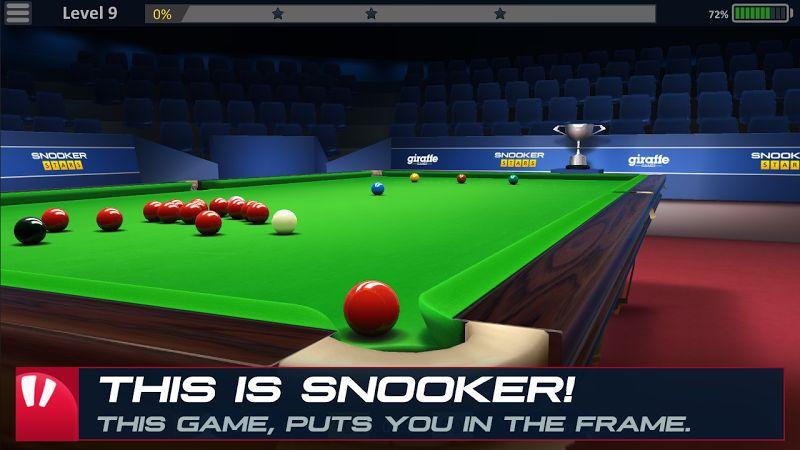 Snooker Stars 3D MOD Vo han TienTime
